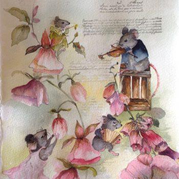 Mössen stämmer in sina instrument till vårens första koncern